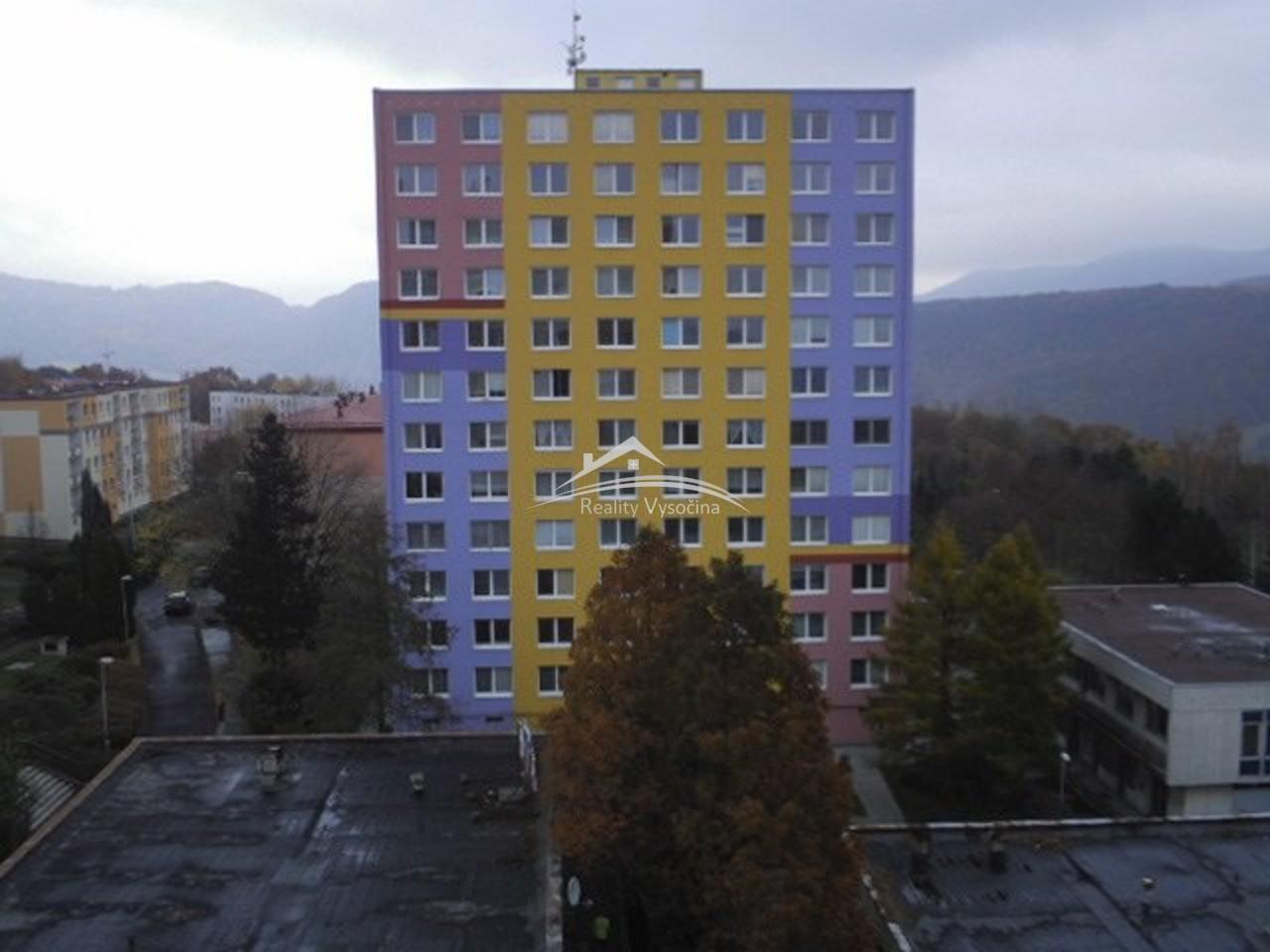 Pronájem, 1+1, OV, 41 m2, 11.patro, ulice Rozcestí ...