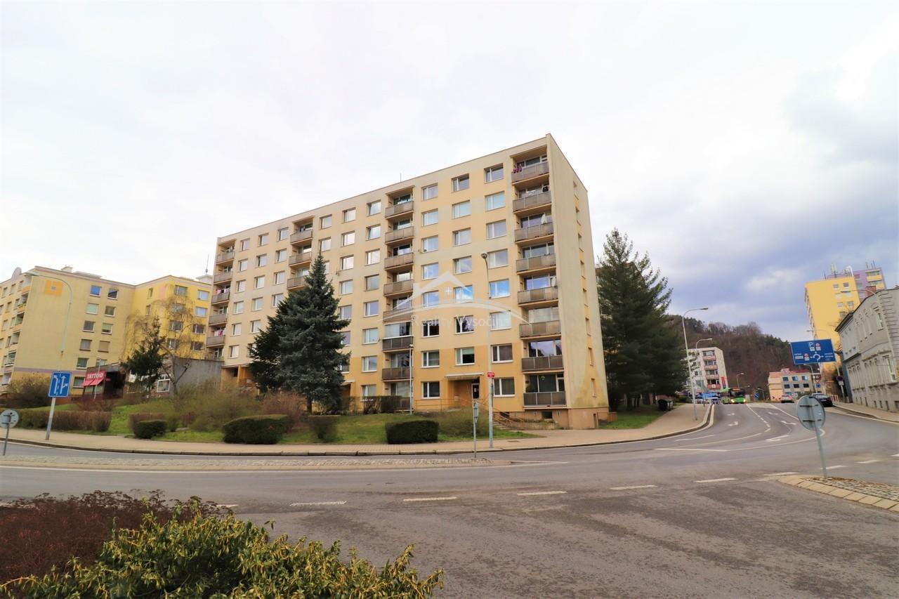 Bytová jednotka 2+1+L v Děčíně.
