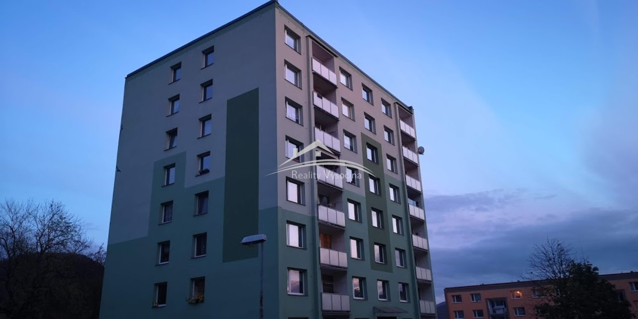 Pronájem, 3+1/L, OV, 78 m2, 7.patro, ulice Jindřic ...