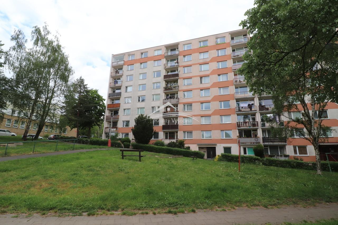 Bytová jednotka 1+1 v Ústí nad Labem.