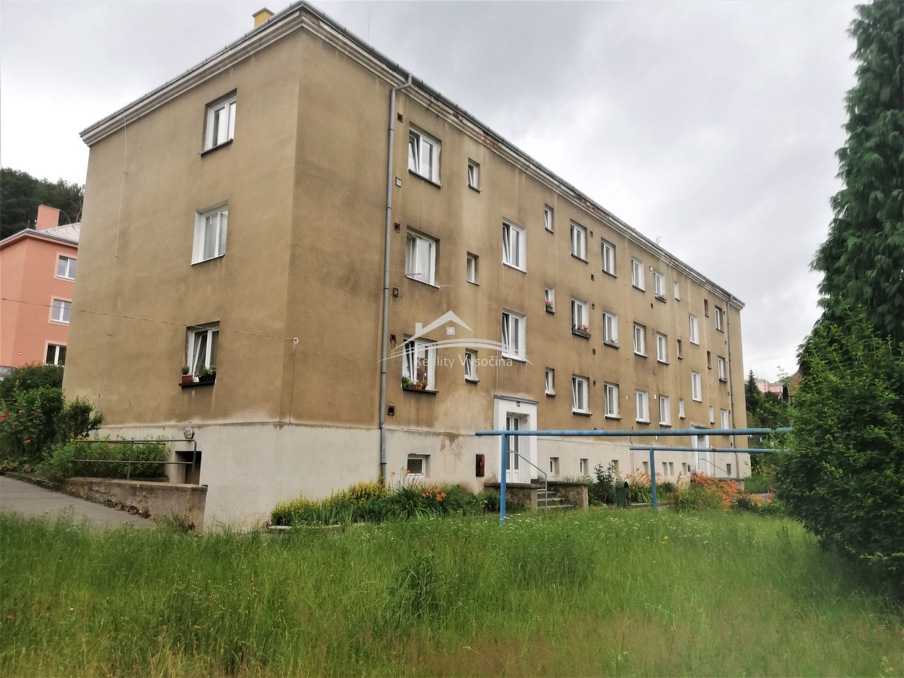 Cihlový byt 3+1 v Ústí nad Labem.