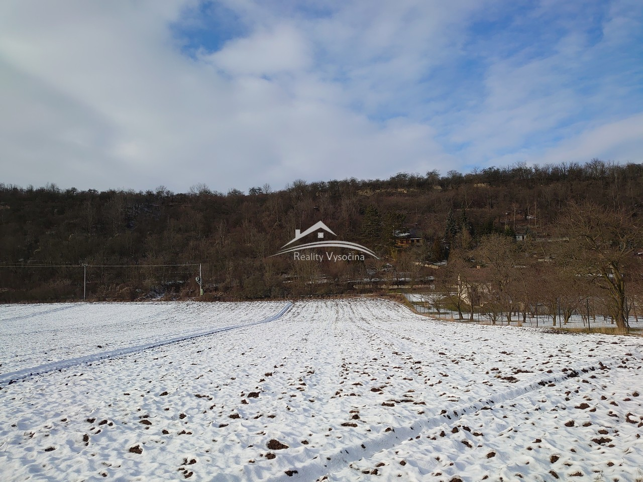Pozemek v obci Brzánky, okr. Roudnice nad Labem.