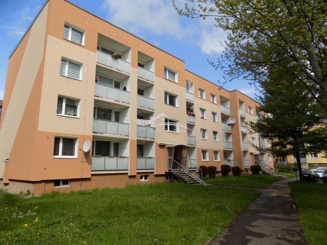 Prodej bytu 3+1/B, 67m2,ve  Cvikově, okres Česká Lípa